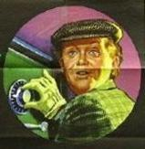 Movie poster: Charlie Drake cracking a safe