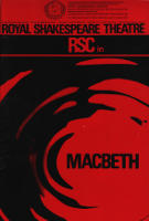 The Royal Shakespears Company's 1967 Macbeth theatre programme cover