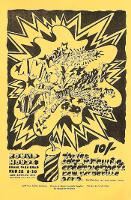 'A Million Volt Light-Sound Rave' concert poster