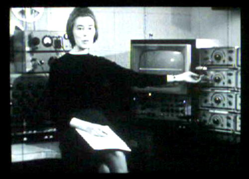 Delia Derbyshire explaining waveforms